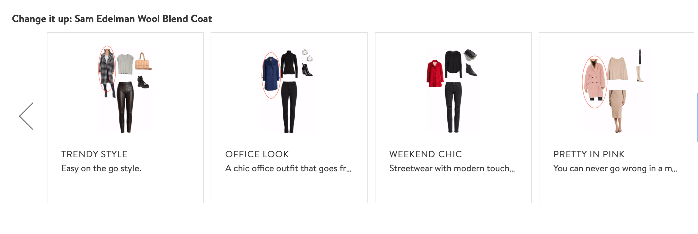 complete the look recommendations Nordstrom