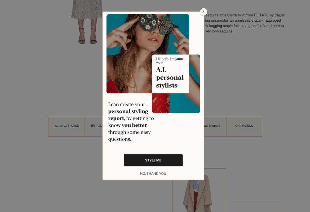 Fashion Personalisation: Styling Advice