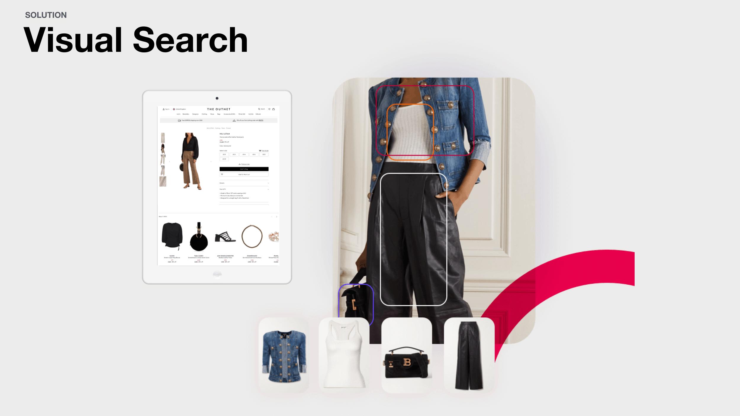 Fashion Personalisation: Visual Search