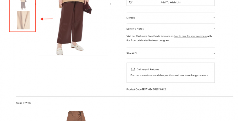 complete the look recommendations TheOutnet